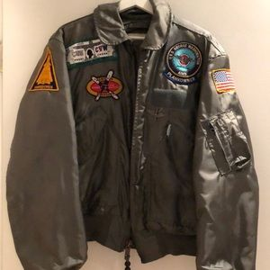 Jackets & Blazers - Vintage Bomber Jacket